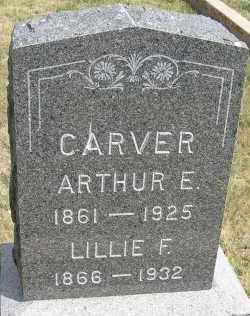 CARVER, ARTHUR E. - Elbert County, Colorado | ARTHUR E. CARVER - Colorado Gravestone Photos
