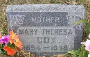 COX, MARY THERESA - Elbert County, Colorado | MARY THERESA COX - Colorado Gravestone Photos
