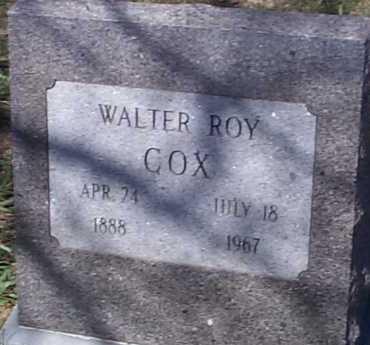 COX, WALTER ROY - Elbert County, Colorado | WALTER ROY COX - Colorado Gravestone Photos