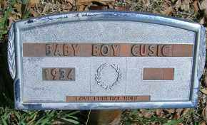 CUSIC, BABY BOY - Elbert County, Colorado   BABY BOY CUSIC - Colorado Gravestone Photos