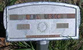 CUSIC, BABY - Elbert County, Colorado | BABY CUSIC - Colorado Gravestone Photos