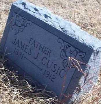 CUSIC, JAMES J. - Elbert County, Colorado   JAMES J. CUSIC - Colorado Gravestone Photos