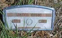 CUSIC, JOYCE - Elbert County, Colorado   JOYCE CUSIC - Colorado Gravestone Photos