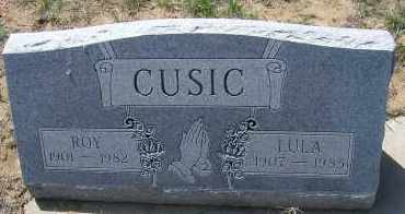 CUSIC, LULA - Elbert County, Colorado | LULA CUSIC - Colorado Gravestone Photos