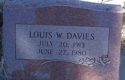 DAVIES, LOUIS W. - Elbert County, Colorado | LOUIS W. DAVIES - Colorado Gravestone Photos