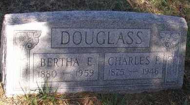 DOUGLASS, CHARLES F. - Elbert County, Colorado | CHARLES F. DOUGLASS - Colorado Gravestone Photos