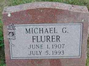 FLURER, MICHAEL G. - Elbert County, Colorado | MICHAEL G. FLURER - Colorado Gravestone Photos