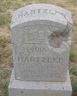 HARTZLER, LYDIA E. - Elbert County, Colorado | LYDIA E. HARTZLER - Colorado Gravestone Photos