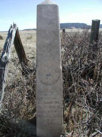 HAYDEN, OLIVE A - Elbert County, Colorado | OLIVE A HAYDEN - Colorado Gravestone Photos
