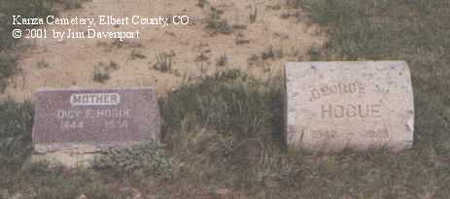 HOGUE, DICY E. - Elbert County, Colorado | DICY E. HOGUE - Colorado Gravestone Photos