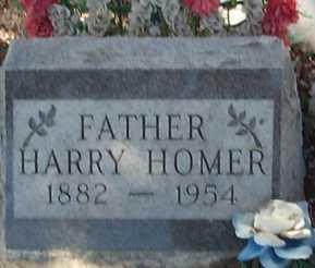 HOMER, HARRY - Elbert County, Colorado | HARRY HOMER - Colorado Gravestone Photos