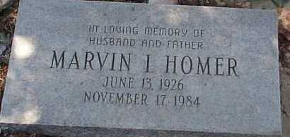 HOMER, MARVIN I. - Elbert County, Colorado | MARVIN I. HOMER - Colorado Gravestone Photos