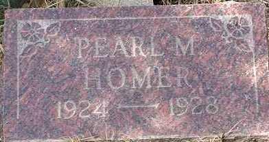 HOMER, PEARL M. - Elbert County, Colorado | PEARL M. HOMER - Colorado Gravestone Photos