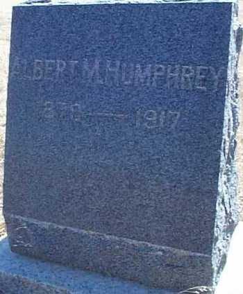 HUMPHREY, ALBERT M. - Elbert County, Colorado | ALBERT M. HUMPHREY - Colorado Gravestone Photos