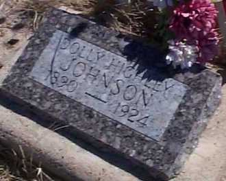 JOHNSON, DOLLY - Elbert County, Colorado | DOLLY JOHNSON - Colorado Gravestone Photos