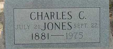 JONES, CHARLES C. - Elbert County, Colorado | CHARLES C. JONES - Colorado Gravestone Photos