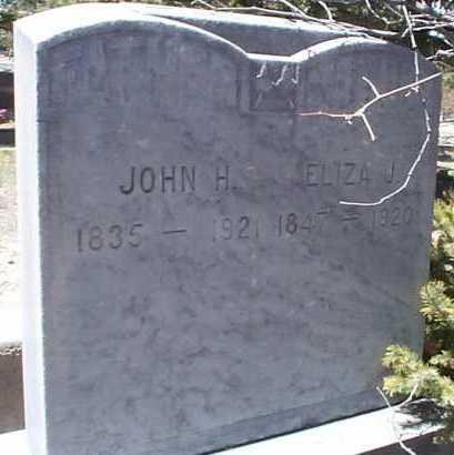 JONES, ELIZA J. - Elbert County, Colorado | ELIZA J. JONES - Colorado Gravestone Photos