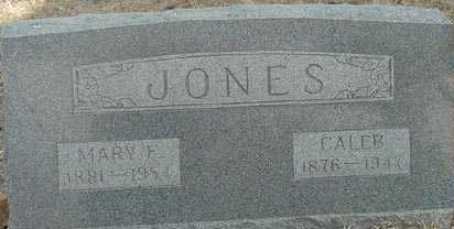 JONES, CALEB - Elbert County, Colorado | CALEB JONES - Colorado Gravestone Photos