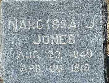 JONES, NARCISSA J. - Elbert County, Colorado   NARCISSA J. JONES - Colorado Gravestone Photos