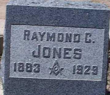 JONES, RAYMOND C. - Elbert County, Colorado | RAYMOND C. JONES - Colorado Gravestone Photos