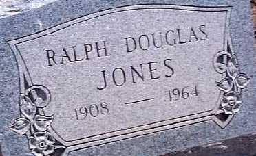 JONES, RALPH DOUGLAS - Elbert County, Colorado   RALPH DOUGLAS JONES - Colorado Gravestone Photos