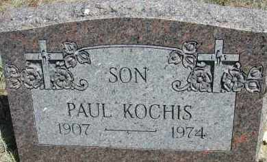 KOCHIS, PAUL - Elbert County, Colorado | PAUL KOCHIS - Colorado Gravestone Photos