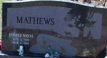 MATHEWS, DONALD WAYNE - Elbert County, Colorado | DONALD WAYNE MATHEWS - Colorado Gravestone Photos
