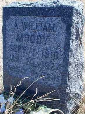 MOODY, A. WILLIAM - Elbert County, Colorado | A. WILLIAM MOODY - Colorado Gravestone Photos