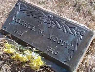 MOODY, ARTHUR W. - Elbert County, Colorado | ARTHUR W. MOODY - Colorado Gravestone Photos