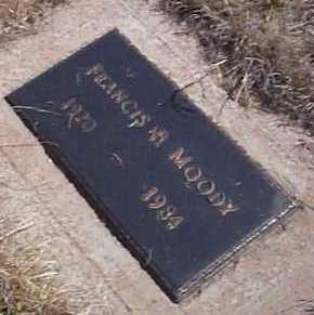 MOODY, FRANCIS B. - Elbert County, Colorado | FRANCIS B. MOODY - Colorado Gravestone Photos