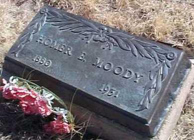 MOODY, HOMER E. - Elbert County, Colorado | HOMER E. MOODY - Colorado Gravestone Photos