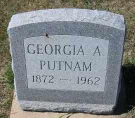 PUTNAM, GEORGIA A. - Elbert County, Colorado | GEORGIA A. PUTNAM - Colorado Gravestone Photos