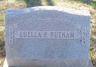 PUTNAM, LUELLA P. - Elbert County, Colorado   LUELLA P. PUTNAM - Colorado Gravestone Photos