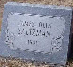 SALTZMAN, JAMES OLIN - Elbert County, Colorado   JAMES OLIN SALTZMAN - Colorado Gravestone Photos