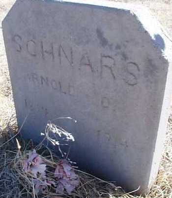 SCHNARS, ARNOLD D. - Elbert County, Colorado | ARNOLD D. SCHNARS - Colorado Gravestone Photos