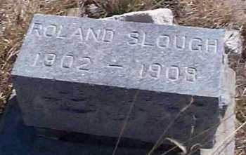 SLOUGH, ROLAND - Elbert County, Colorado | ROLAND SLOUGH - Colorado Gravestone Photos