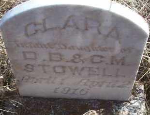 STOWELL, CLARA - Elbert County, Colorado   CLARA STOWELL - Colorado Gravestone Photos