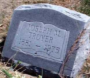TROYER, JOSEPH M. - Elbert County, Colorado | JOSEPH M. TROYER - Colorado Gravestone Photos