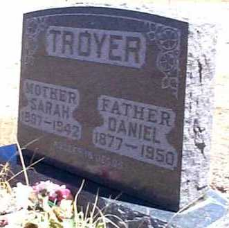 TROYER, DANIEL - Elbert County, Colorado | DANIEL TROYER - Colorado Gravestone Photos