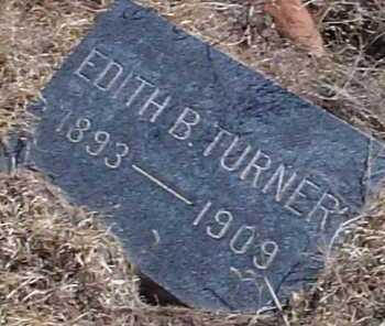 TURNER, EDITH B. - Elbert County, Colorado   EDITH B. TURNER - Colorado Gravestone Photos