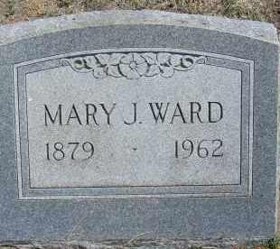 WARD, MARY J. - Elbert County, Colorado | MARY J. WARD - Colorado Gravestone Photos