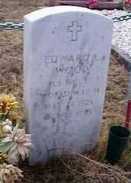WOOD, EDWARD L. - Elbert County, Colorado   EDWARD L. WOOD - Colorado Gravestone Photos