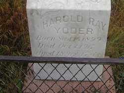 YODER, HAROLD RAY - Elbert County, Colorado | HAROLD RAY YODER - Colorado Gravestone Photos