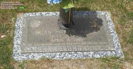 ADAIR, BRIAN PATRICK - El Paso County, Colorado | BRIAN PATRICK ADAIR - Colorado Gravestone Photos