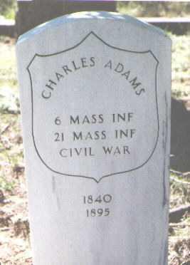 ADAMS, CHARLES - El Paso County, Colorado | CHARLES ADAMS - Colorado Gravestone Photos