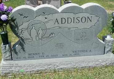 ADDISON, BENNY D. - El Paso County, Colorado | BENNY D. ADDISON - Colorado Gravestone Photos