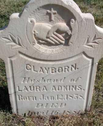 ADKINS, CLAYBORN - El Paso County, Colorado | CLAYBORN ADKINS - Colorado Gravestone Photos
