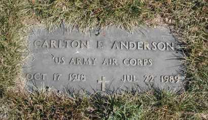 ANDERSON, CARLTON E. - El Paso County, Colorado   CARLTON E. ANDERSON - Colorado Gravestone Photos