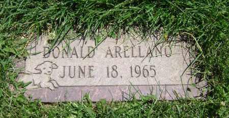 ARELLANO, DONALD - El Paso County, Colorado | DONALD ARELLANO - Colorado Gravestone Photos