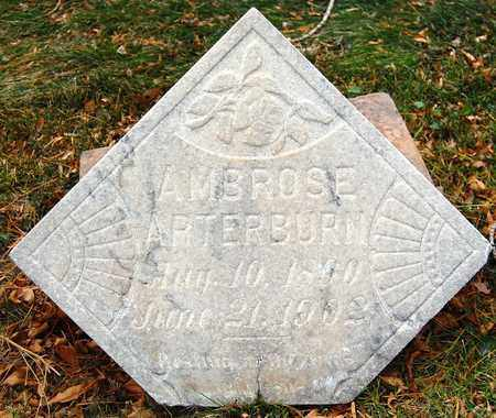 ARTERBURN, AMBROSE - El Paso County, Colorado | AMBROSE ARTERBURN - Colorado Gravestone Photos